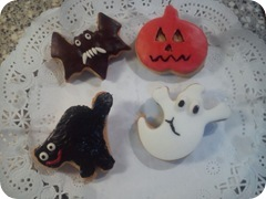 GALLETITAS HALLOWEEN DECORADAS