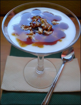 MOUSSE DE YOGURT Y NUECES II