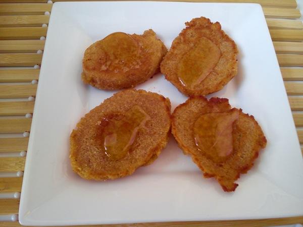 TORTITAS DE LECHE Y PAN