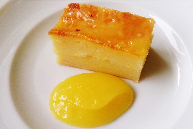 Quesada y cuajado de limón